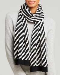 C by diagonal stripe scarf medium 116033