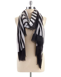 Vince Camuto Striped Fashion Scarf