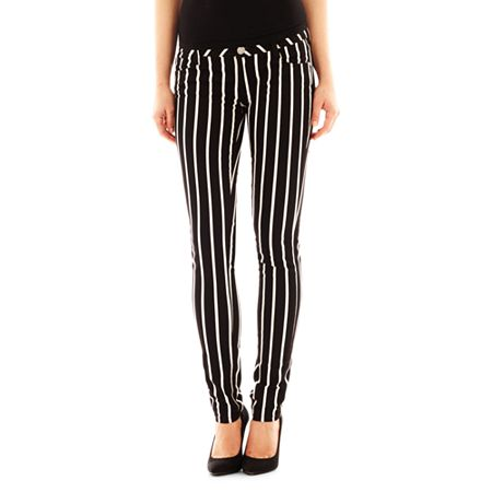 Decree Striped Super Skinny Jeans | Where to buy & how to wear