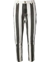 Laurence Dolige Striped Jeans