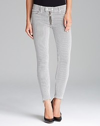 TEXTILE Elizabeth and James Jeans Cooper In Black And White Stripe