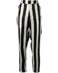 Petar Petrov Striped Silk Trouser