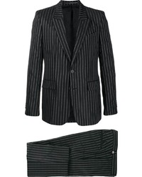 Givenchy Logo Pinstriped Suit