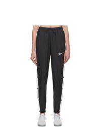 Nike Black Windrunner Track Pants