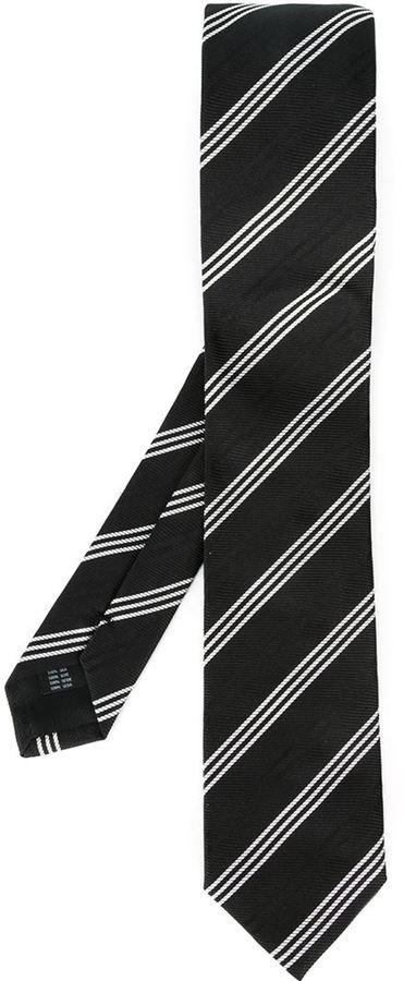 3beaaefb07dd Dolce & Gabbana Striped Tie, $245 | farfetch.com | Lookastic.com