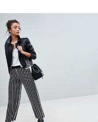 Asos Tall Knitted Culottes In Stripe