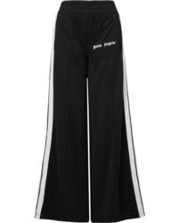 Palm Angels Striped Satin Jersey Track Pants