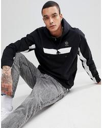 Reebok Half Zip Jacket In Black Ce5074