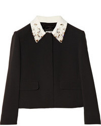 Embellished collar cady jacket medium 78571