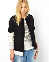 Urbancode Melton Wool Bomber Jacket