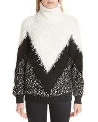 Givenchy Intarsia Chevron Sweater