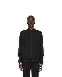Polo Ralph Lauren Black Interlock Zip Up Jacket