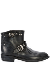 Golden Goose Deluxe Brand Strapped Buckle Ankle Boots
