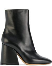 Maison Margiela Flared Heel Ankle Boots