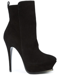 Saint Laurent Platform Sole Ankle Boots
