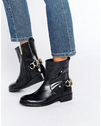 Tommy Hilfiger Polly Chain Ankle Boots