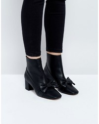 Asos Rayola Bow Ankle Boots
