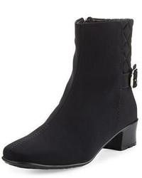 Sesto Meucci Yannik Weatherproof Quilted Ankle Boot Black