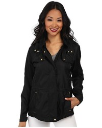 Vince Camuto Hooded Parka W Quilting Anorak