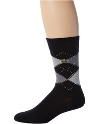 Lacoste Argyle Sock