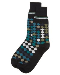Falling diamond socks medium 655416