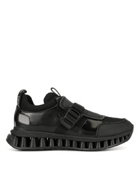 Z Zegna A Maze Buckle Sneakers
