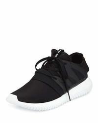 adidas Tubular Viral Neoprene Sneaker Core Blackrunning White