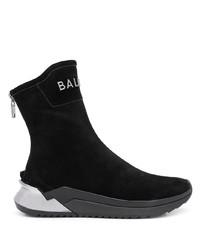 Balmain B Glove High Top Sneakers