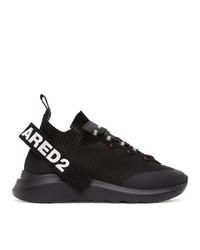 DSQUARED2 Black 1964 Speedster Sneakers
