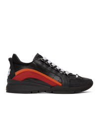 DSQUARED2 Black 551 Sneakers