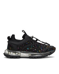Givenchy Black And Multicolor Spectre Structured Low Sneakers
