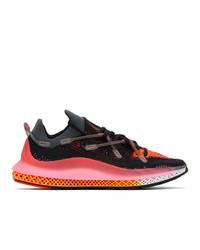 adidas Originals Black And Pink 4d Fusio Sneakers