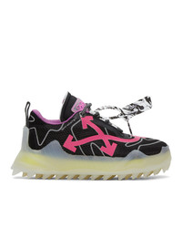 Off-White Black And Pink Odsy 1000 Sneakers