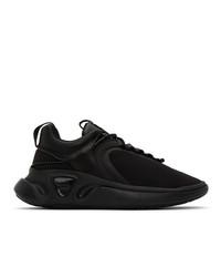 Balmain Black B Runner Sneakers