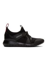 Moncler Black Emilien Sneakers