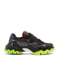 Valentino Black Garavani Climber Sneakers