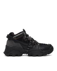 Kenzo Black Inka Sneakers