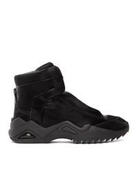 Maison Margiela Black New Future Ii High Top Sneakers
