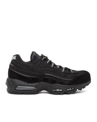 Comme Des Garcons Homme Plus Black Nike Edition Air Max 95 Sneakers