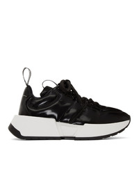 MM6 MAISON MARGIELA Black Padded Sneakers