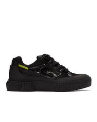 Both Black Pro Tec Runner Sneakers
