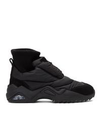 Maison Margiela Black Puffer Sneakers