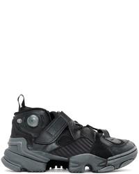 Vetements Black Reebok Edition Genetically Modified Pump High Top Sneakers