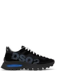 DSQUARED2 Black Run Dsq2 Sneakers