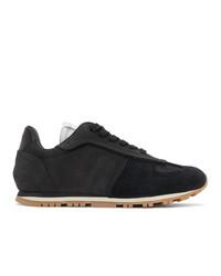 Maison Margiela Black Runner Sneakers