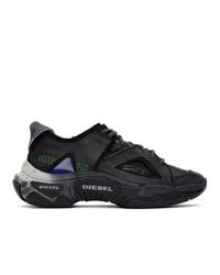 Diesel Black S Kipper Sp Sneakers