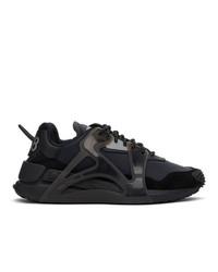 Diesel Black S Serendipity Mask Sneakers