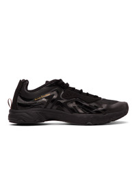 Acne Studios Black Trail Sneakers
