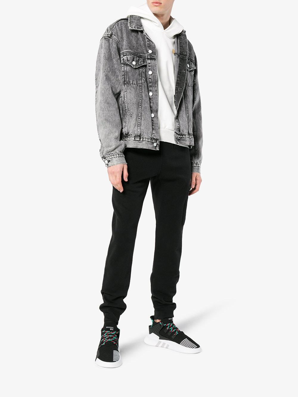 info for e1e8f 33097 $137, adidas Eqt Bask Adv Lace Up Sneakers