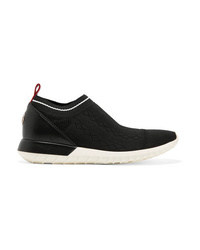 Moncler Giroflee Ed Stretch Knit Slip On Sneakers